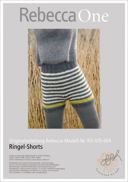 Strickanleitung - Ringel-Shorts
