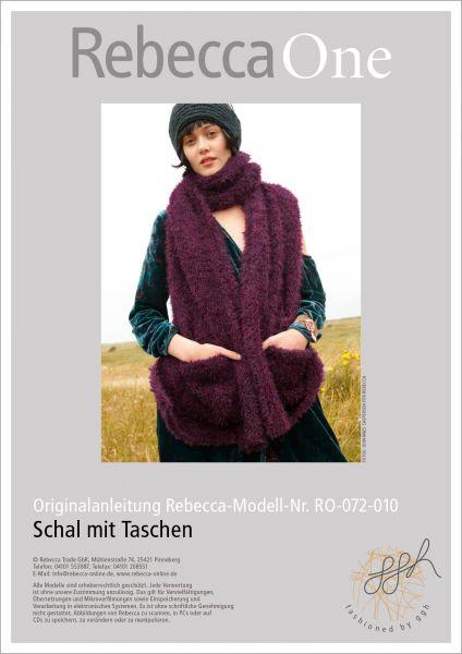 Strickanleitung - Schal mit Taschen