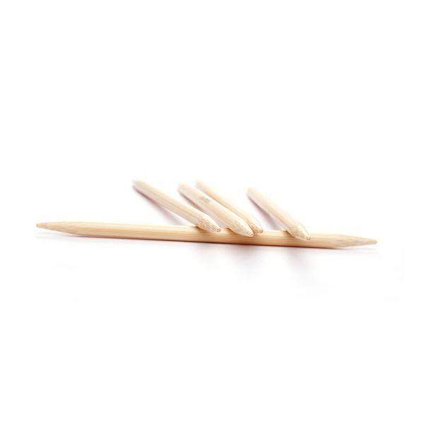 Strumpfstricknadeln Bambus - 15 cm
